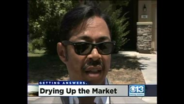 Drought & Landscaping KOVR CBS13 10pm Sac, CA 06 11 2014
